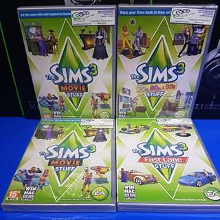 [PC] Sims 3 Expansion Pack $9.90ea !