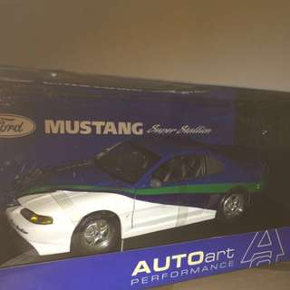1/18 Mustang Super Stallion. AutoArt
