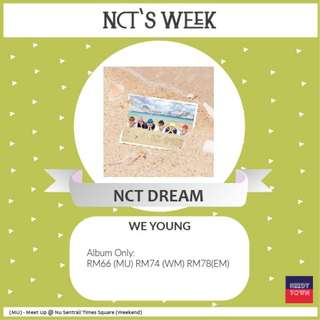 (PROMO UNTIL 25/2) NCT DREAM - WE YOUNG