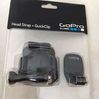 BN Original GoPro Headstrap + QuickClip