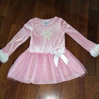 Pink Bludru Top