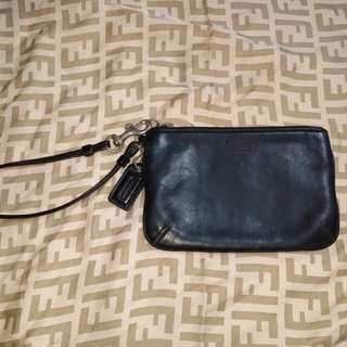 Authentic Coach Wristlet Clutch