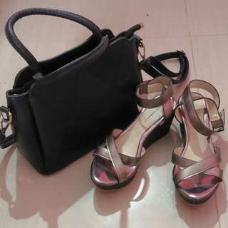 Take All Sling Bag & Wedges