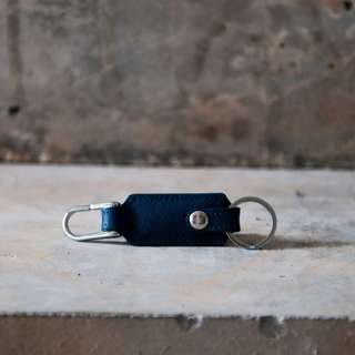 Keychain in Saffiano Leather *4 COLORS*