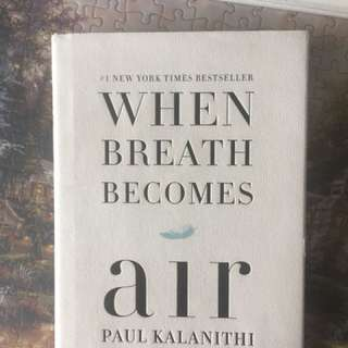 Breathe becomes air hardcover