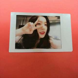 Red Velvet Irene Polaroid Fujifilm