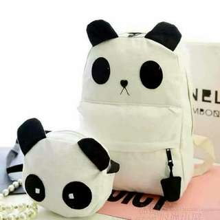 PANDA 2IN1 BAG SET