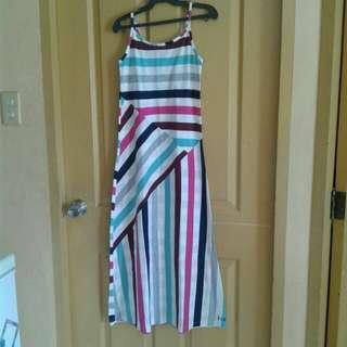 Repriced! Stripes long dress