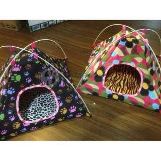 p239471 折疊式帳篷寵物窩 蒙古包 狗屋 貓房子 寵物用品