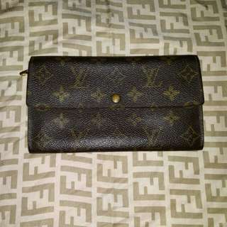 Authentic Louis Vuitton LV Envelope Wallet Indexer