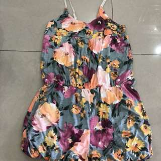 Floral Romper (7-8 years)