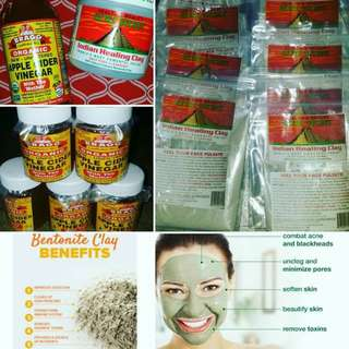aztec bentonite clay mask(SALE SALE SALE)
