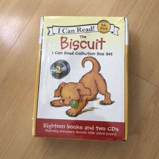 I Can Read - My First Reading (Biscuit the Dog) 18 Titles + 2 CDs
