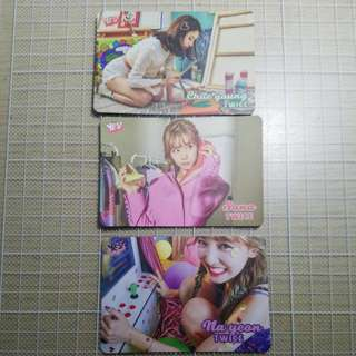 Twice yes card 3張