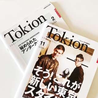 Japanese Tokion Magazine