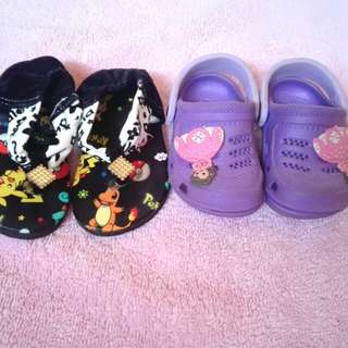 Take all baby slippers