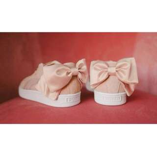 PUMA bow sneakers in Pink 蝴蝶結 波鞋