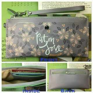 Lonng wallet with Bible verses