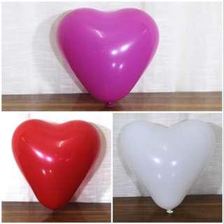 心形氣球 - 結婚/生日/場地佈置/畢業典禮
