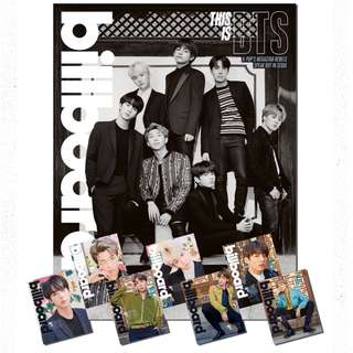 BTS Limited Edition Box Set (BTS Billboard magazine)