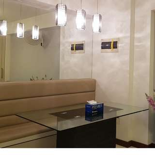 DESIGNER DECOR 2 RM 5 YR OLD NEW UNIT FOR SALE, NEXT TO SHOPPING MALL
