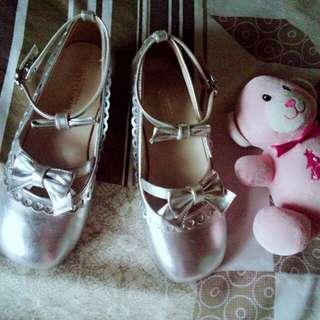 Silver Lolita Shoes