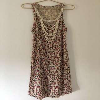Pearl Floral Dress