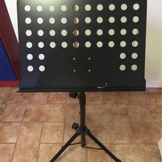 Heavy duty music stand.
