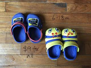 6-18 month bundle of shoes for baby boy