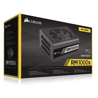 Corsair RMX RM1000x 1000W 80 PLUS Gold Certified Fully Modular PSU