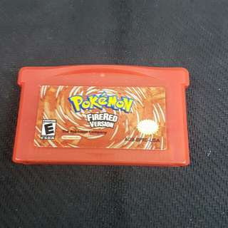 GBA Pokemon FireRed (Authentic) (Used Game)
