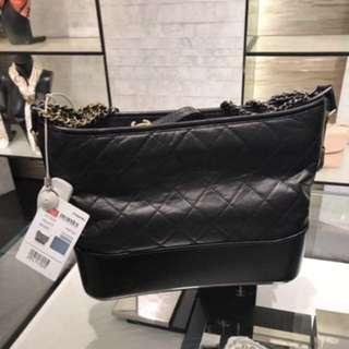 NEW CHANEL GABRIELLE HOBO MEDIUM BAG 黑色😍 $30900 全城斷貨