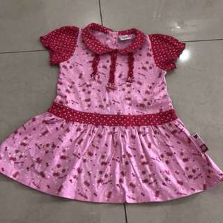 Baby Kiko Girl Dress ( 12-18 mths)