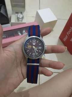 Jam tangan seiko edisi barca unisex