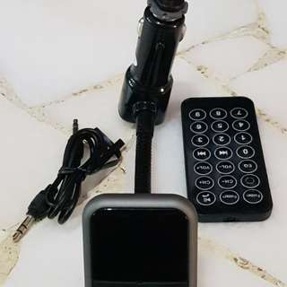 Bluetooth FM Modulator & Handsfree Kit