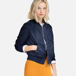 Uniqlo Bomber Jacket Navy