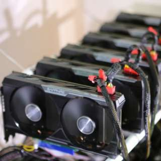 Ethereum Cryptocurrency Mining Rig 1060 1070 1070Ti 1080 1080Ti RX570 RX580