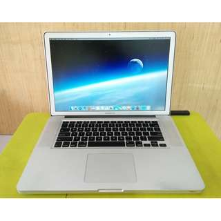 Macbook pro Core i7 8GB Ram 1000GB Hdd Heavy Gaming Laptop