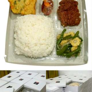 nasi box rendang sunori