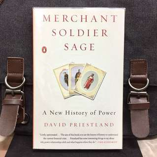 《Bran-New + A Bold New Interpretation Of Modern History As a Struggle of Balance Of Power Between 3 Economic Groups 》David Priestland - MERCHANT, SOLDIER, SAGE : A New History of Power