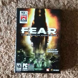 PC CD Game - Fear