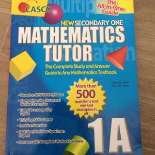 CASCO Math Tutor 1A & 1B