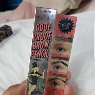 Benefit goof proof brow