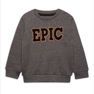 PRIMARK BOY EPIC LONG SLEEVE SWEATER
