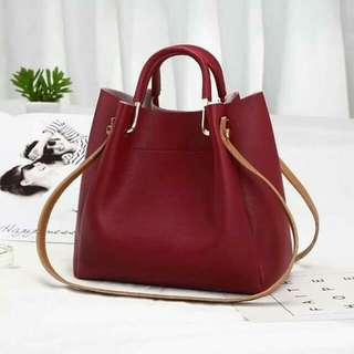 2 way bag Korean shoulder/ handbag