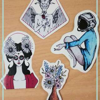 Art Prints and Art Stickers