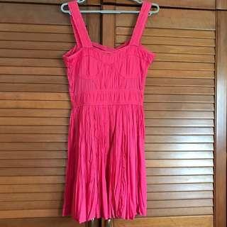 Asos Pink Cotton Dress