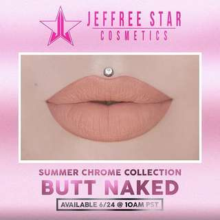 Jeffree Star Velour Liquid Lipstick in Butt Naked