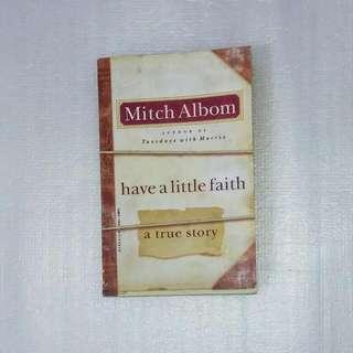 Mitch Albom, Have A Little Faith