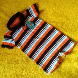 Carter's Onesies stripes shorts
